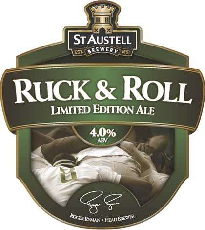 Ruck and Roll 4.0% abv