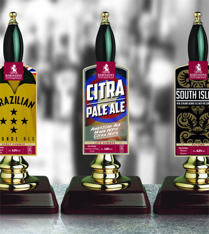 Robinsons new real ales 2014